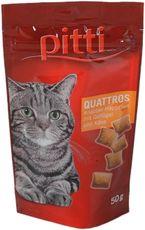pitti Quattros Knabber-Häppchen mit Geflügel & Käse
