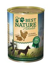 Dogs Best Nature Kaninchen und Huhn mit Nudeln