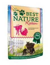Cats Best Nature Kitten Pute und Kalb mit Grünlippmuschel