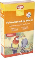 Feinschmecker-Menü für Großsittiche