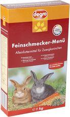 Feinschmecker-Menü für Zwergkaninchen