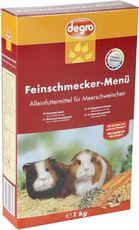 Feinschmecker-Menü für Meerschweinchen