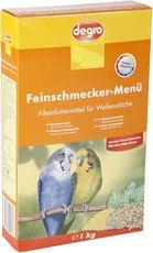 Feinschmecker-Menü für Wellensittiche