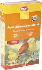 Feinschmecker-Menü für Kanarien