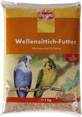 Wellensittich-Futter