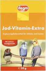 Jod-Vitamin-Extra für Sittiche & Exoten