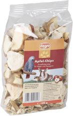 Apfel-Chips für Nager & Papageien