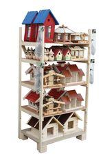 Vogelhaus-Display