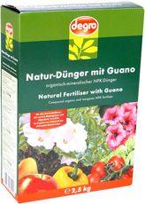 degro Natur-Dünger mit Guano